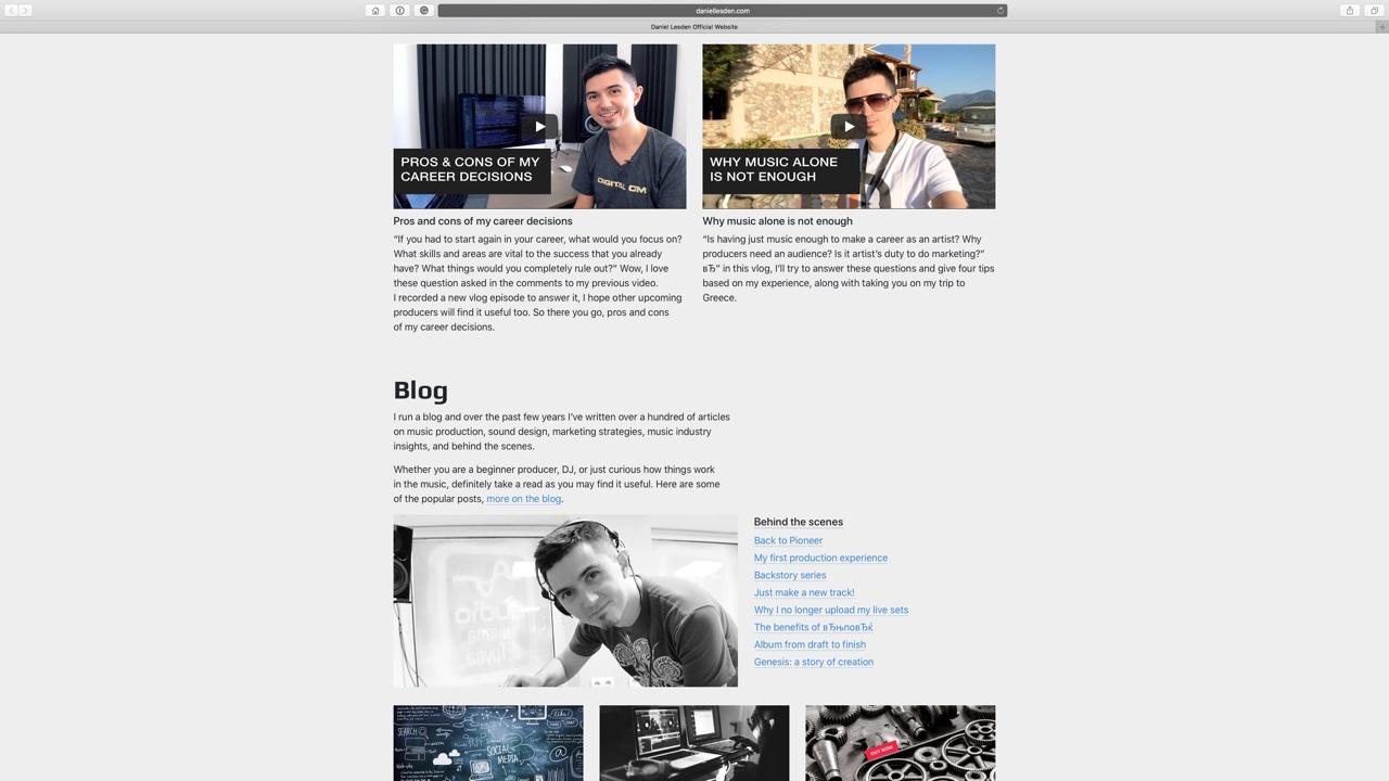 Блог и видеоблог